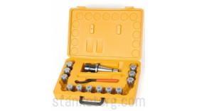 ISO40-ER32 - патрон цанговый с комплектом цанг из 12 шт.