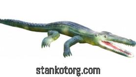 """Парковая скульптура """"Крокодил"""""""