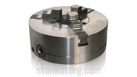 Патрон токарный 3-х кулачковый 3-100.02.01 - 100 мм (патрон 7100-0002)