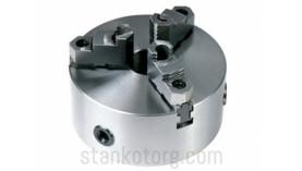 Патрон токарный 3-х кулачковый 3-200.08.20 - 200 мм (со сборными кулачками)