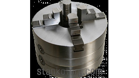 Патрон токарный 4-х кулачковый 4-315.39.34 - 315 мм с цельными кулачками