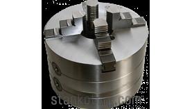 Патрон токарный 4-х кулачковый 4-315.55.34 - 315 мм с цельными кулачками