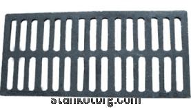 Решетка ливневая чугунная  (прямая)