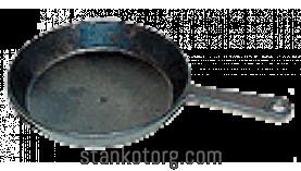 Сковорода алюминиевая с ручкой 2С187