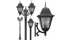 Светильники уличные, парковые